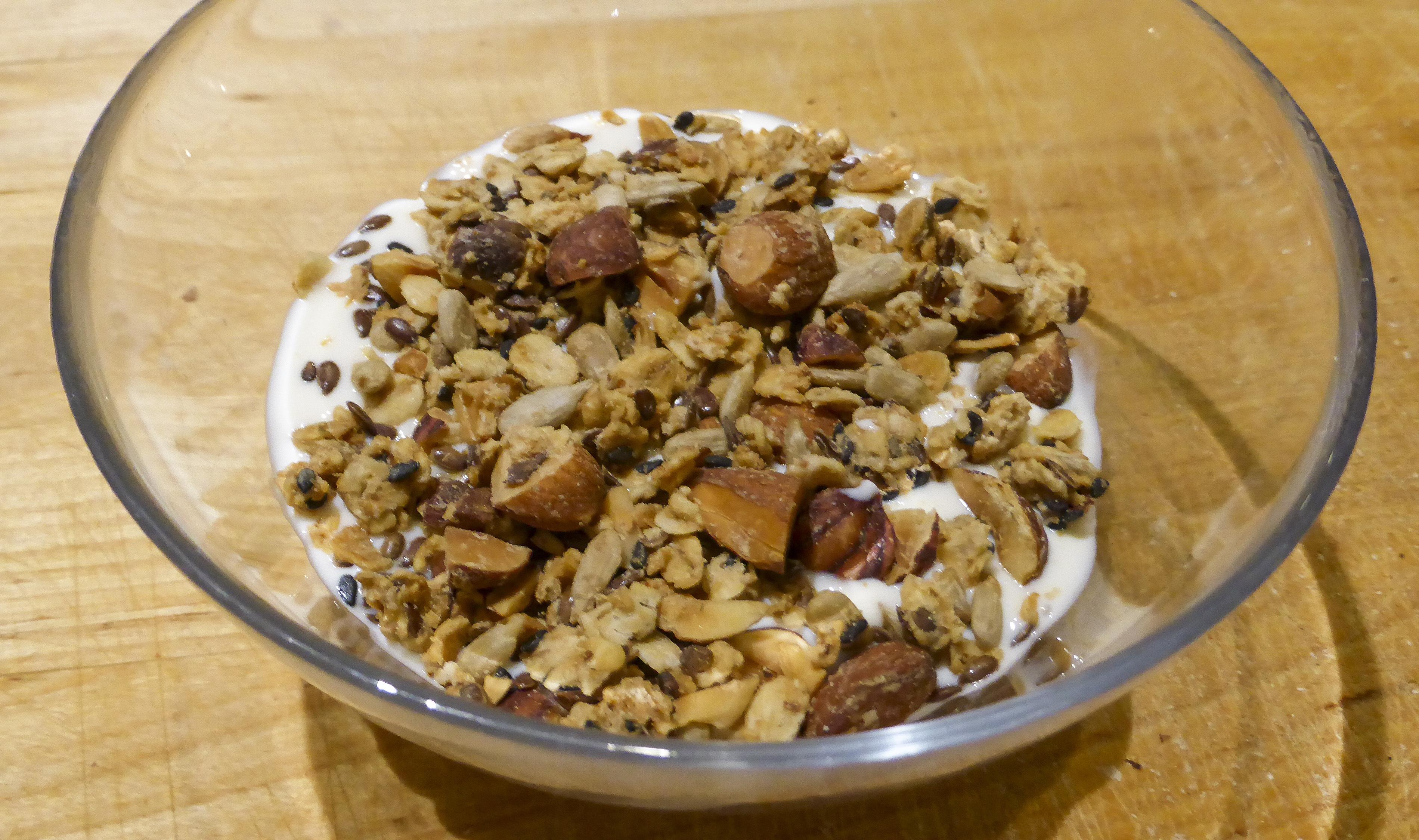Vägd granola