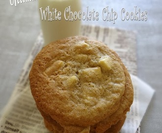 Ultimate White Chocolate Chip Cookies