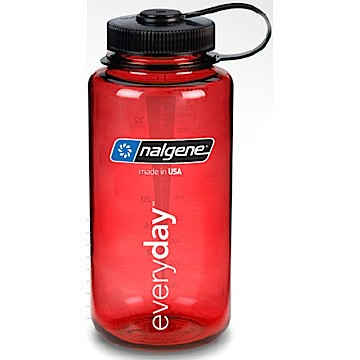 Nalgene WM Everyday 1L Vattenflaska - Röd