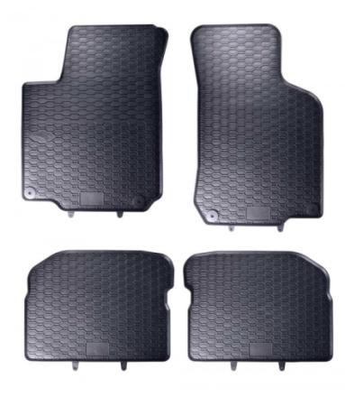 Gummimatta Svart VW Golf MK4 / VW New Beetle / VW Bora / Seat Leon 1M / Skoda Octavia 1U