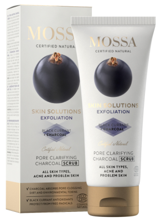 Mossa Skin Solutions Charcoal scrub 60ml thumbnail