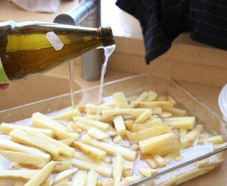 Hvordan Lage Pommes Frites