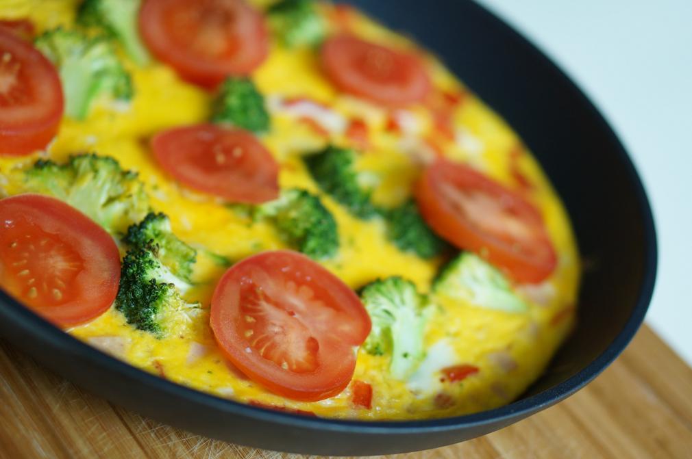 hvordan lage omelett med ost