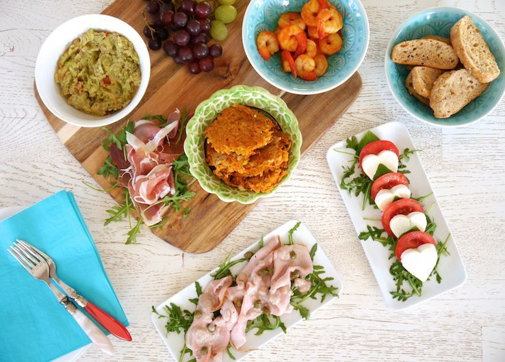 5x super easy en healthy tapas