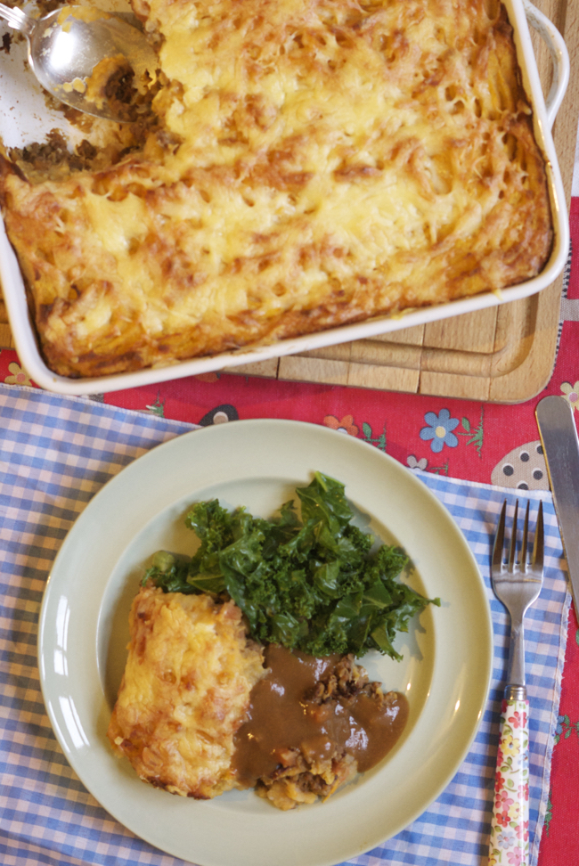 Recipe: Extra wholesome cottage pie