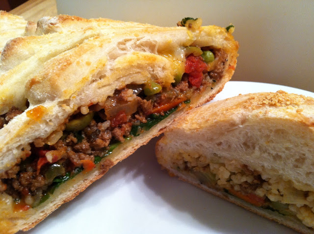 Picadillo Stromboli Braid