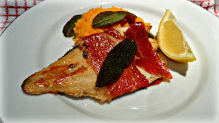 Sea bass with prosciutto and crispy sage: PDO Cookery Challenge, part II