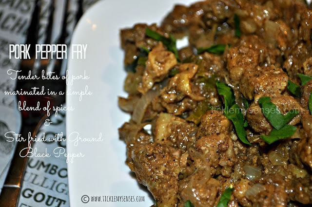 green masala pork goan
