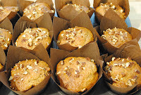 toffee and pecan muffins
