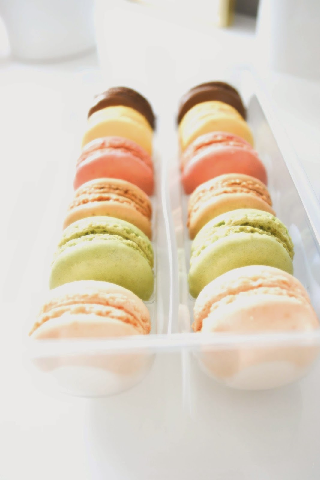 When feeling dull, a macaron never is.