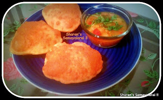 Poori Masala (Step by Step) Receipe