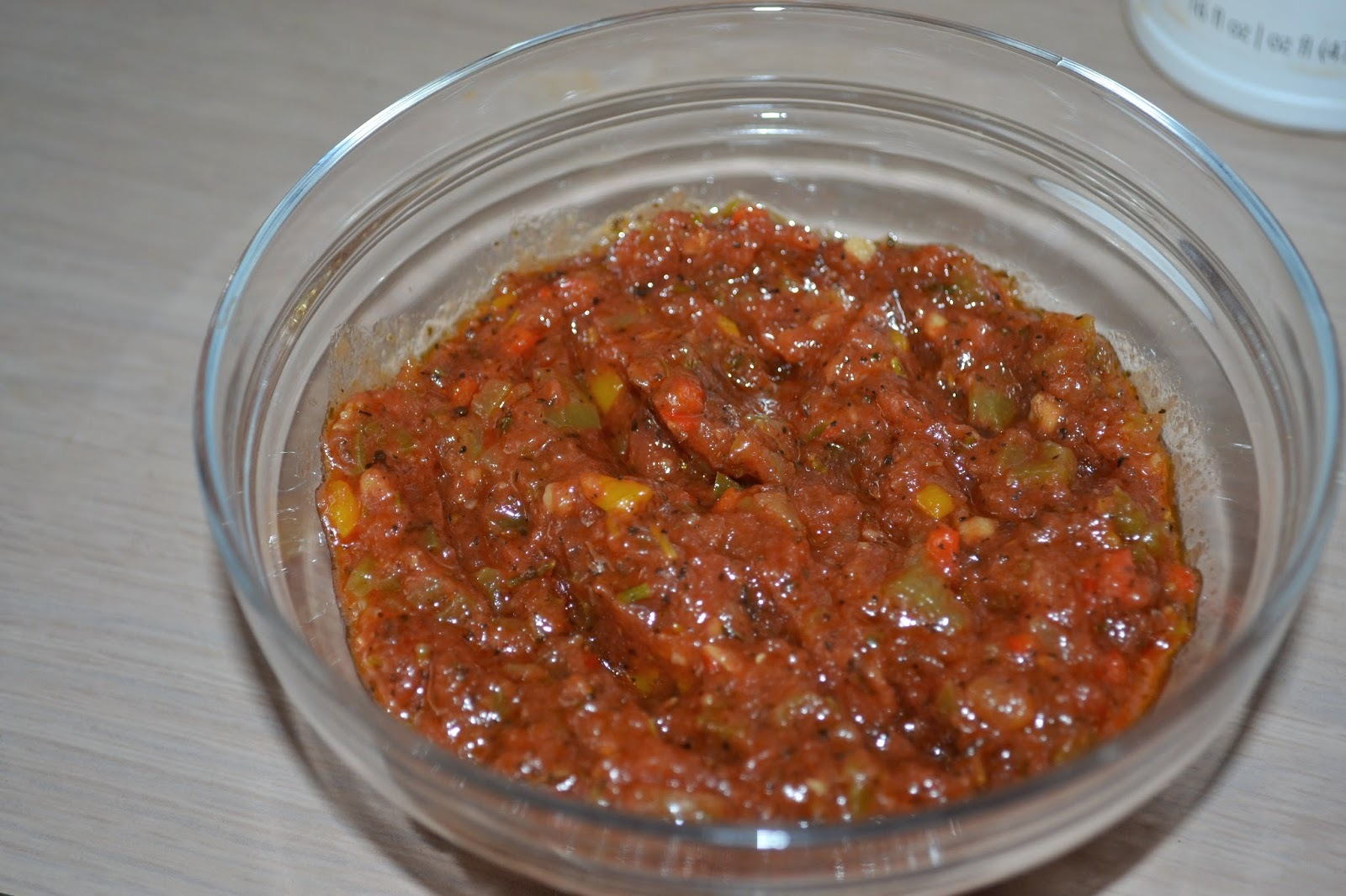 Salsa para Pizza (vegetariana) / Pizza Sauce (vegetarian)