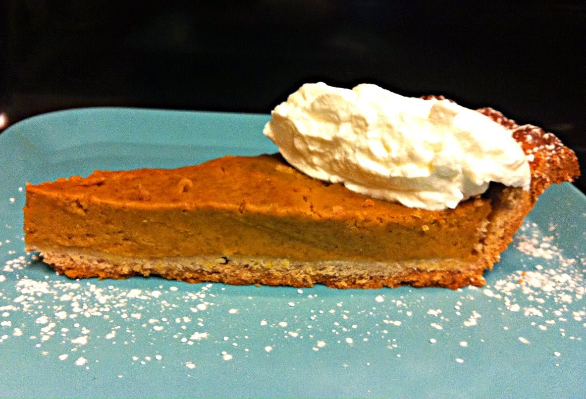 Torta de abóbora - Thanksgiving Pumpkin pie