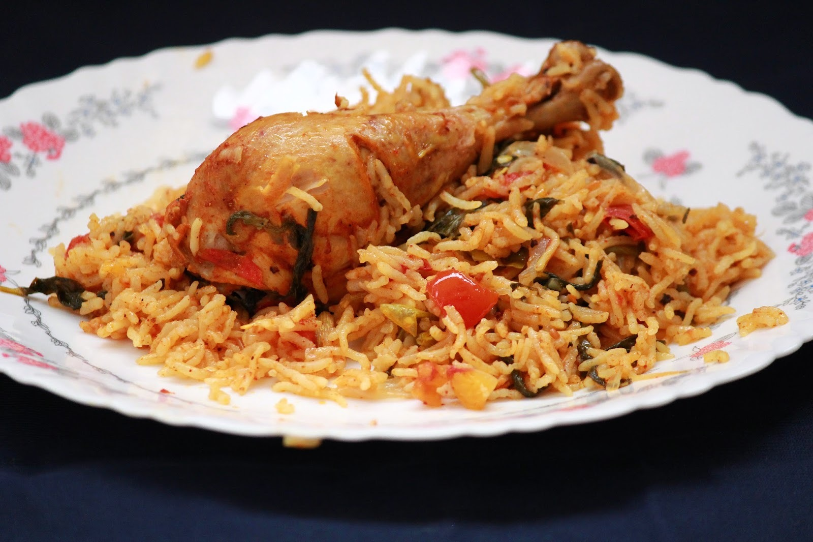 chicken biryani (pressue cooker method)