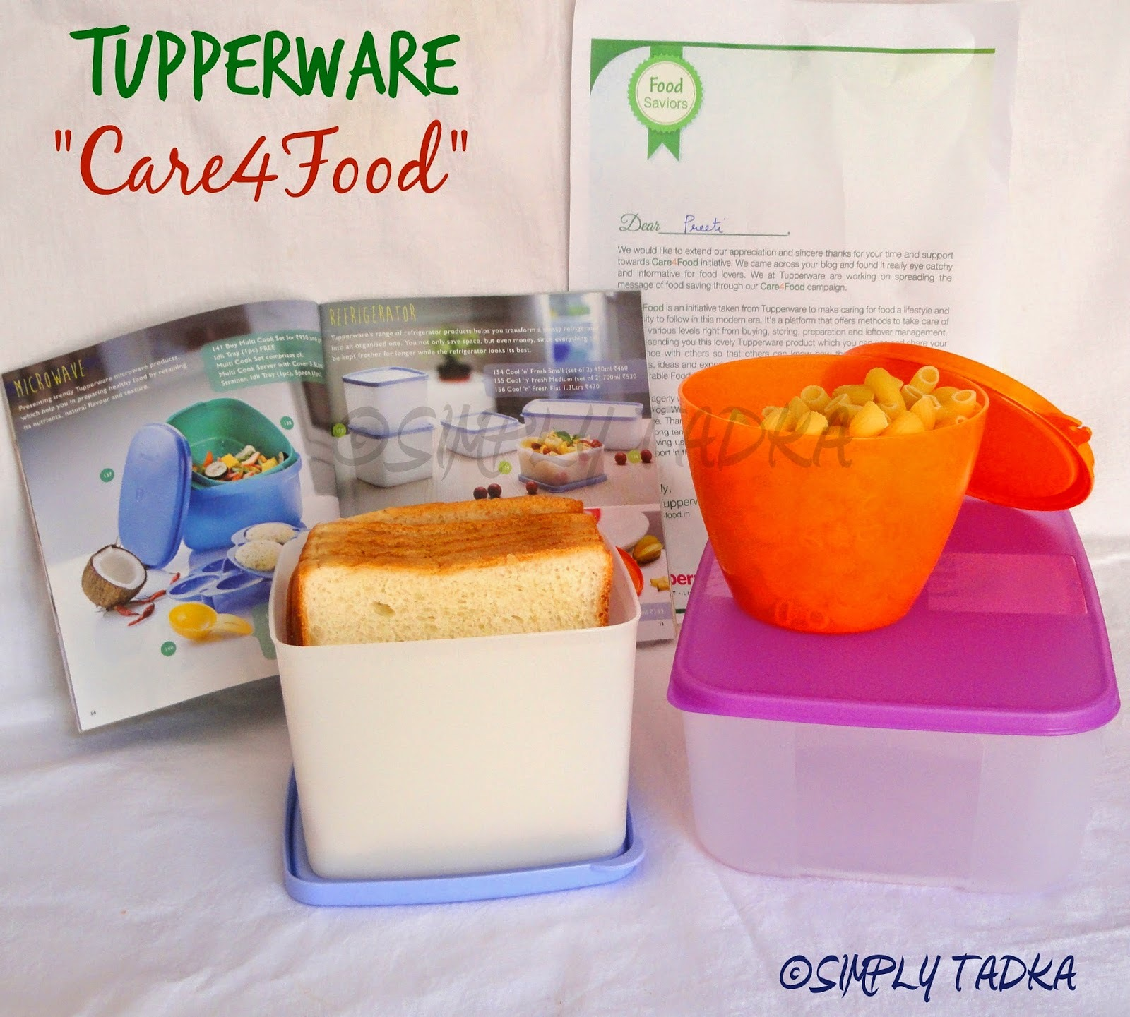 "Tupperware ""Care4Food"" Campaign- Review"