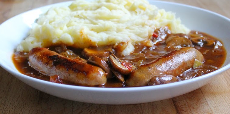 Express Sausage Casserole using Tefal Cook4Me Multicooker