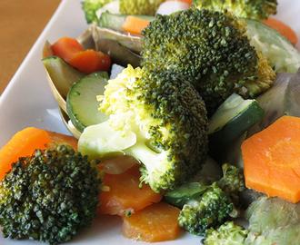 Recetas de para cocinar brocoli al microondas mytaste - Como cocinar al vapor en microondas ...
