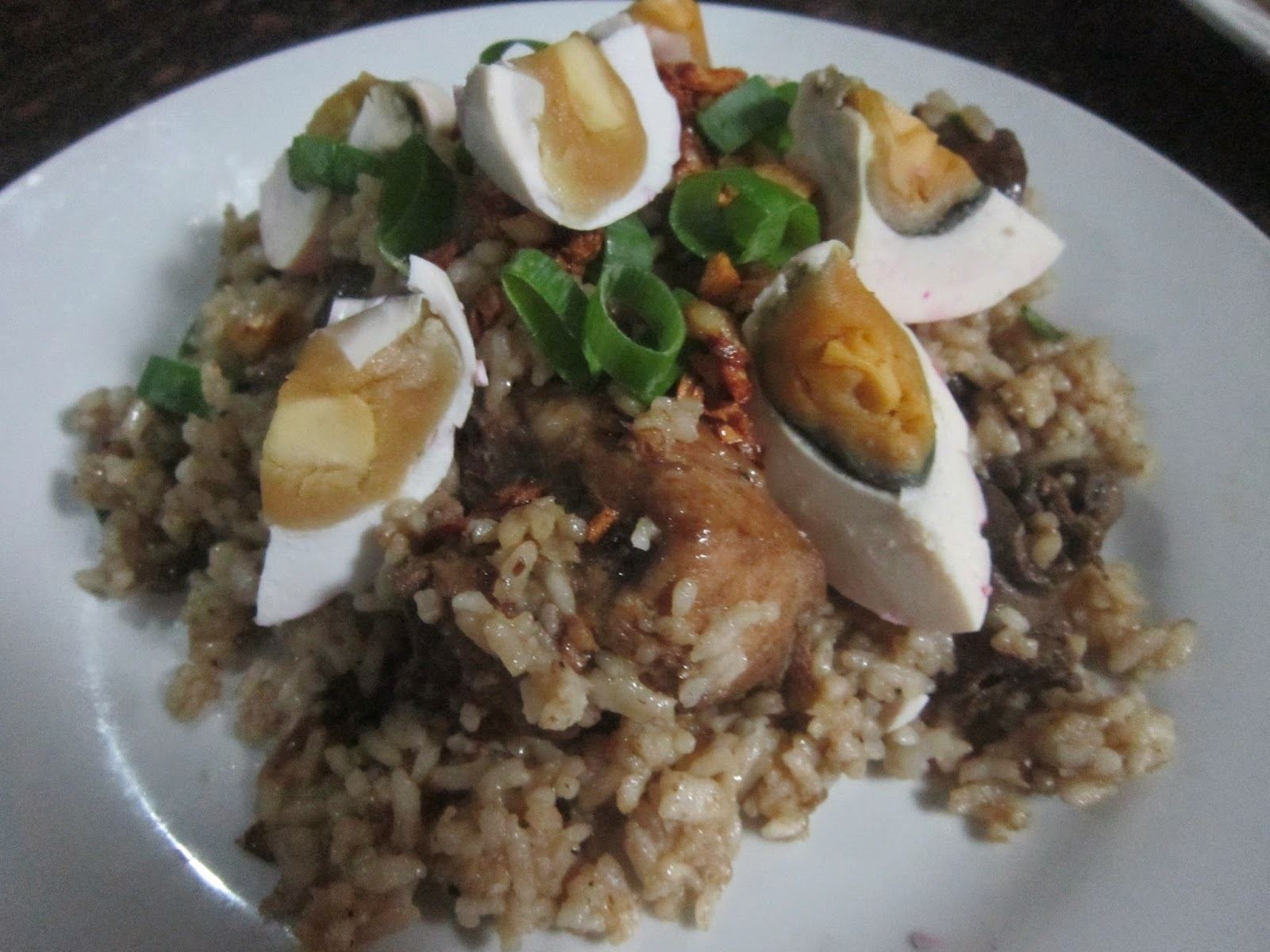 CHICKEN ADOBO RICE