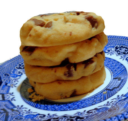 Peanut Butter Chocolate Chip Shortbread