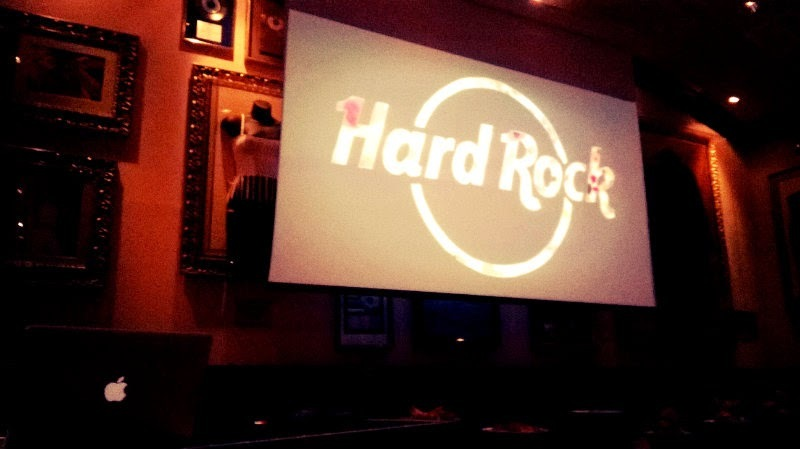 I Feel Food Party at Hard Rock Cafe Roma. E' ora di cena: mangiamo?