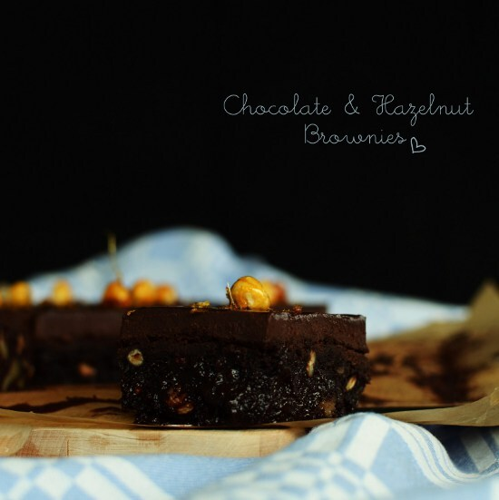 Chocolate and Hazelnut Brownies (Choklad och Hasselnöts brownies)