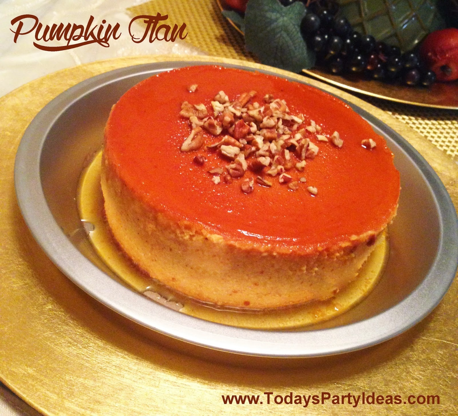 {Sweet Recipes} Pumpkin Flan (Flan de Calabaza)