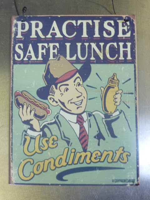 Lunch Responsibly ~ Use a Condiment!