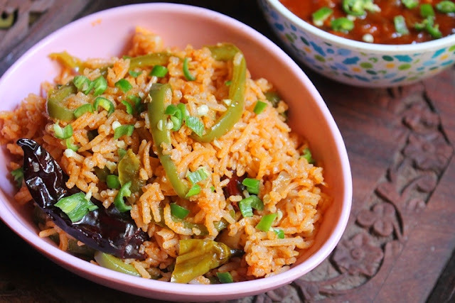 Hot Garlic Fried Rice Recipe - Fiery Chilli Garlic Fried Rice Recipe