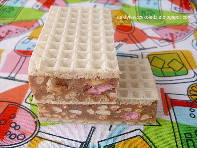 Wafle z marschmallows