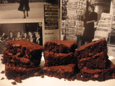 BROWNIES DE CHOCOLATE DA FIFTEEN
