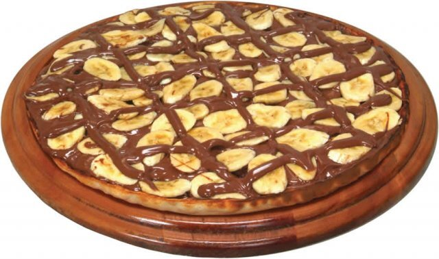 PIZZA DOCE DE CHOCOLATE