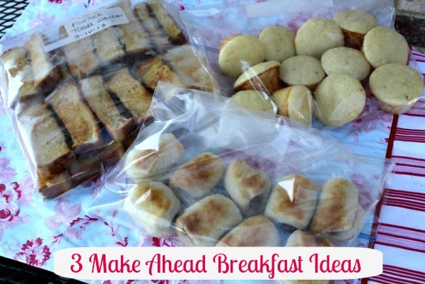 Quick Back to School Breakfast Ideas {Getting Back into Routine}