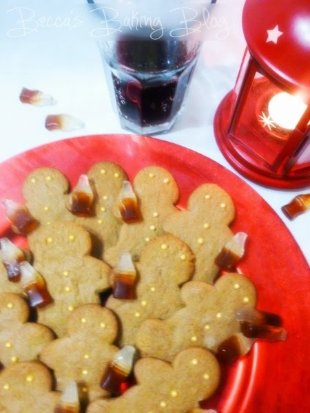 Cola Gingerbread Men for the Great Food Blogger Cookie Swap