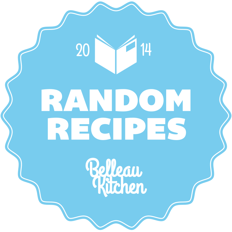 random recipes #39 - time for a Spring clean