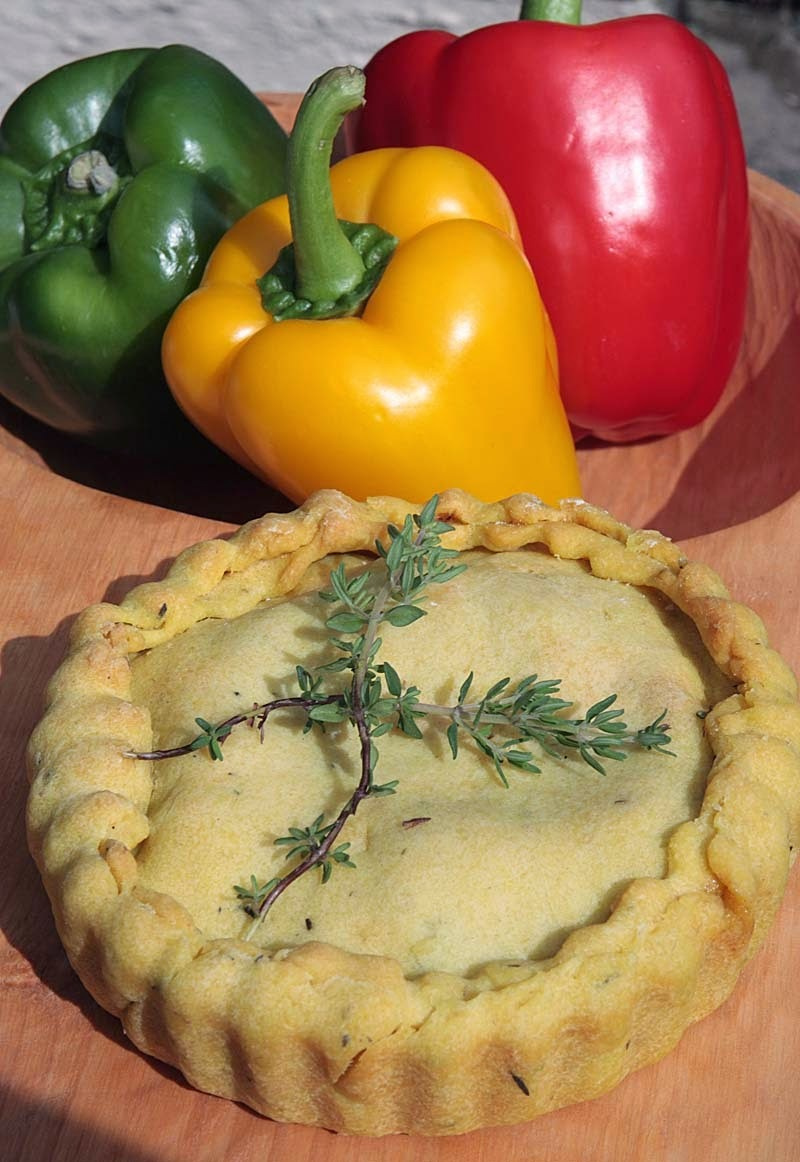 Vegan Jamaican Patties Pies