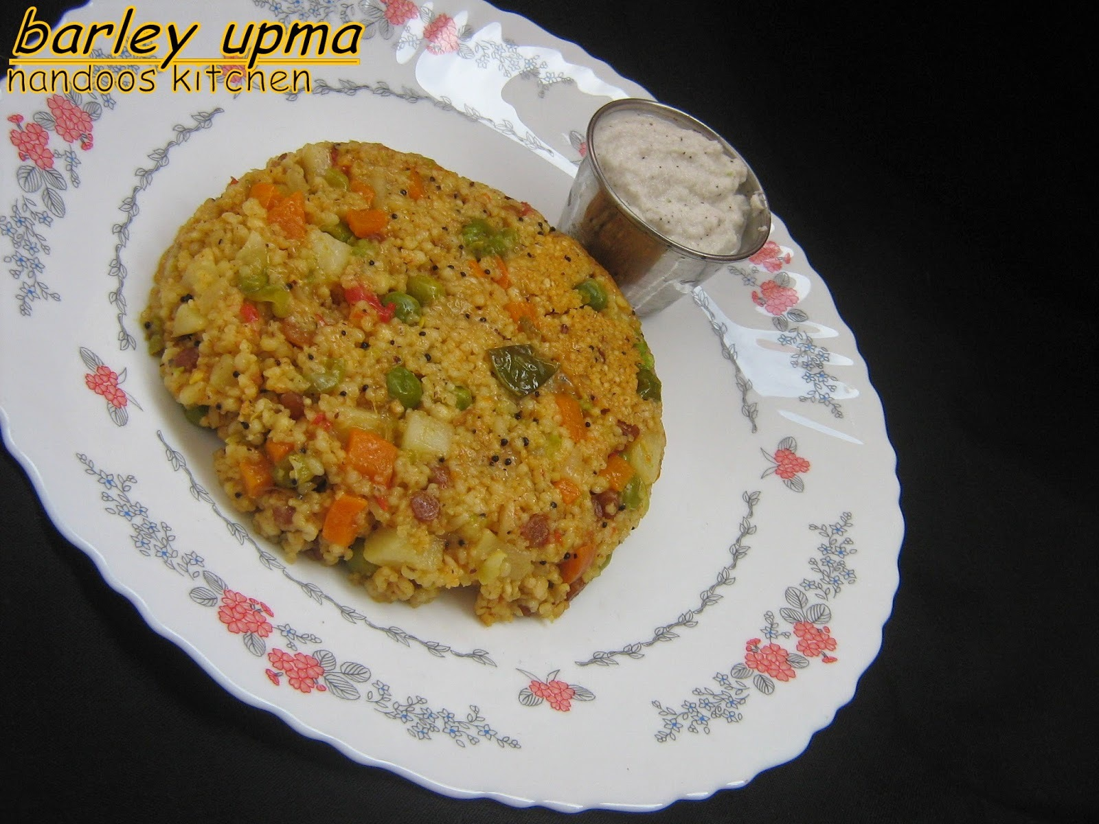 Barley upma / barley recipes / cooking with millets