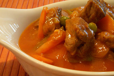 Filipino Beef Caldereta Recipe