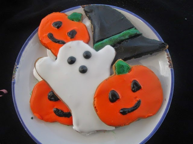 Halloween Cookies (galletas para Halloween)