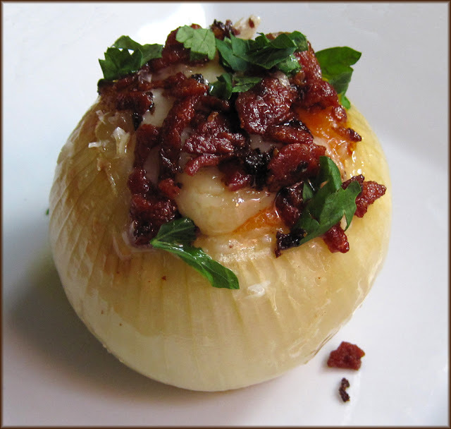 Cheese and Bacon Stuffed Onions - Made Easy with CoreStuff
