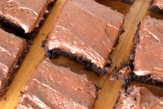 Chocolate Fudge Brownies with Chocolate Buttercream: Joy the Baker Cookbook Spotlight and Cook-off!