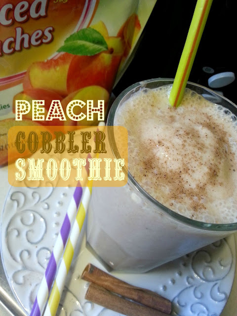 Peach Cobbler Smoothie (WW Pts)