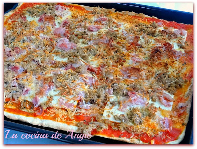 PIZZA DOMINO´S CON POLLO