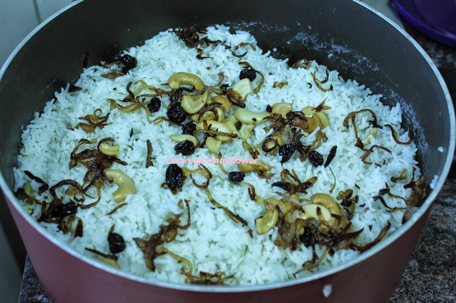 Ghee rice/Ghee rice with coconut milk