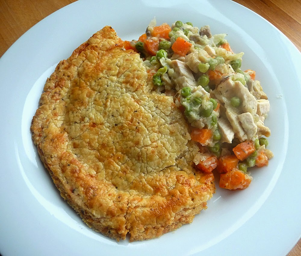 Chicken and vegetable pot pie - Gluten free