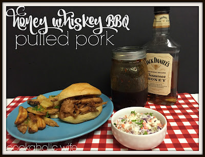 Slow Cooker Jack Daniels Honey Whiskey BBQ Sauce Pulled Pork