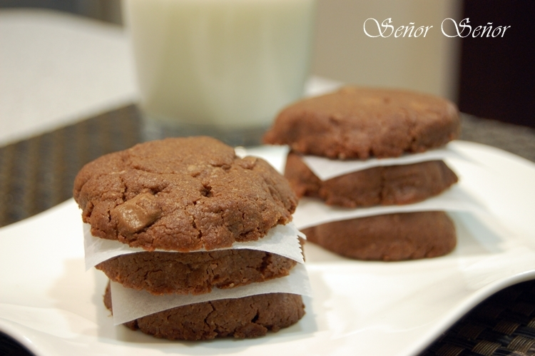 Cookies de brownie: Unas galletas fáciles con sabor a brownie