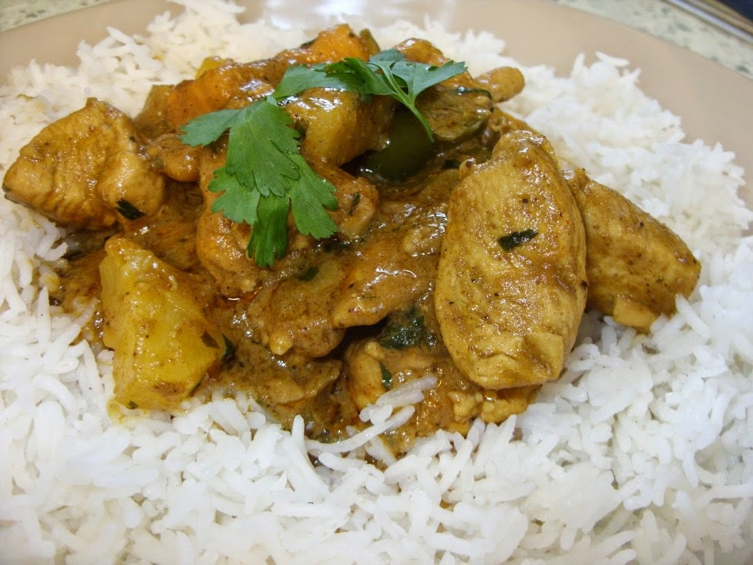 Pineapple & Coconut Chicken Curry