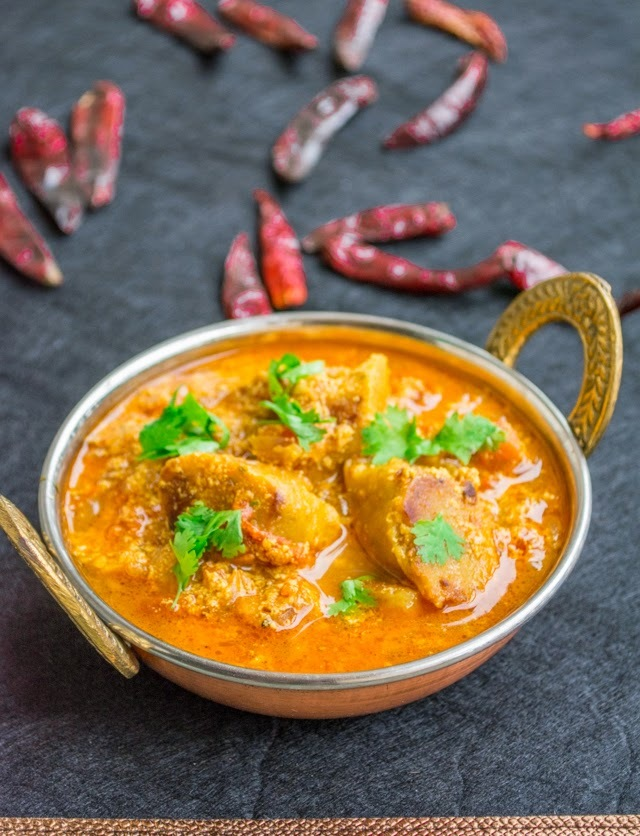 Punjabi Gatta Curry