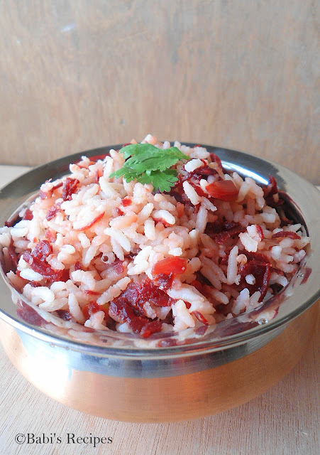 Beetroot Rice  | Lunch Box Ideas | Rice Variety