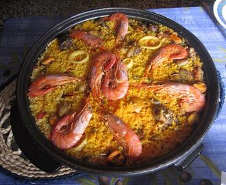 Recetas de paella en barbacoa mytaste - Cocina con sara paella ...